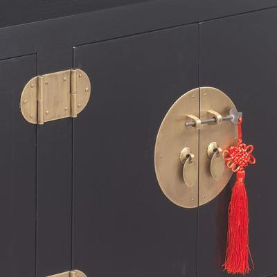 Small Kang Cabinet, Black Lacquer image 3