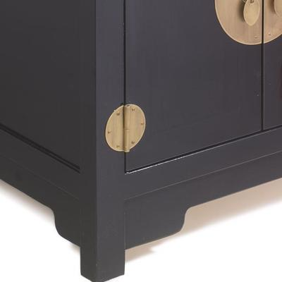 Small Kang Cabinet, Black Lacquer image 4