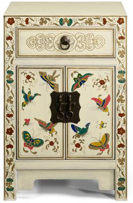Small Butterfly Cabinet, Cream Lacquer image 2