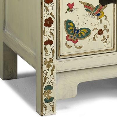 Small Butterfly Cabinet, Cream Lacquer image 4