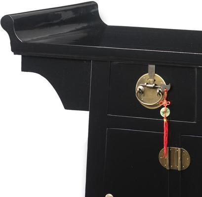 Altar Cabinet, Black Lacquer image 2