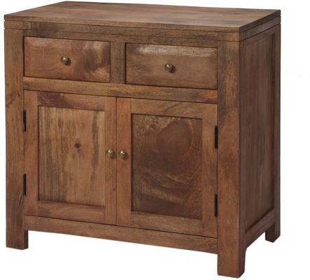 Alwar Mango Light Solid Wood Sideboard with 2 Drawers image 2
