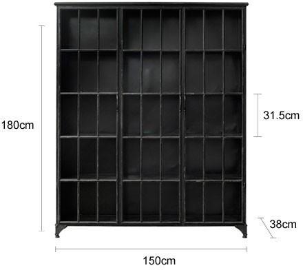 Three Door Metal Cabinet image 2
