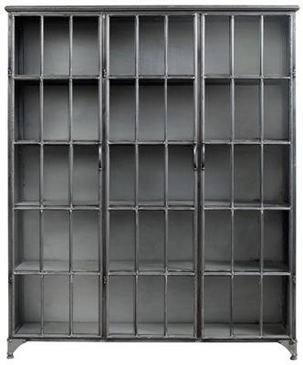 Three Door Metal Cabinet image 4