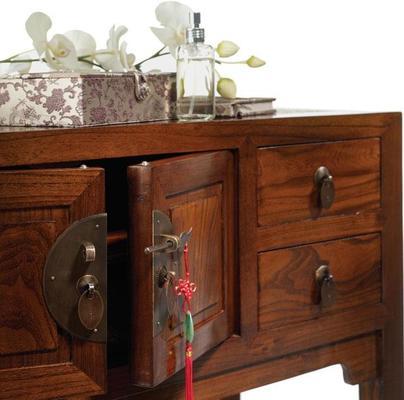 Ladies Cabinet, Warm Elm image 2