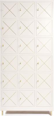 18 Door Metal Cabinet