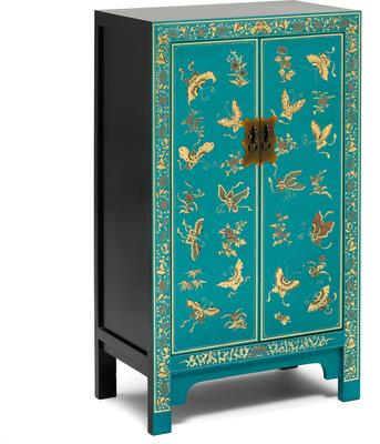 Medium Classic Chinese Cabinet - Blue