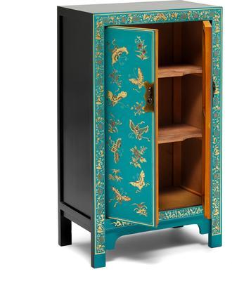 Medium Classic Chinese Cabinet - Blue image 3