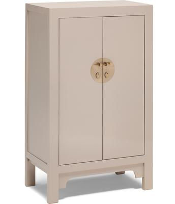 Medium Classic Chinese Cabinet - Oyster Grey