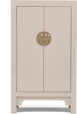 Medium Classic Chinese Cabinet - Oyster Grey image 2