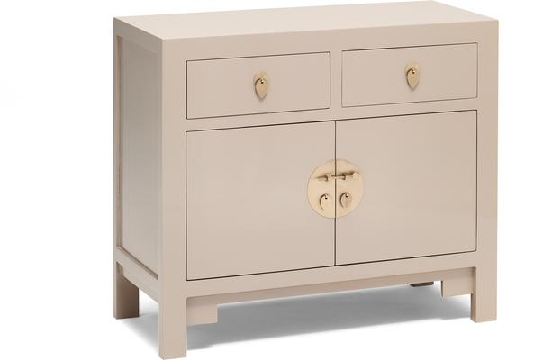 Classic Chinese Sideboard - Oyster Grey