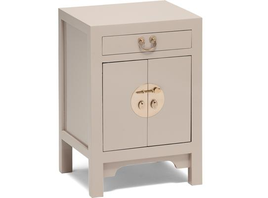 Small Classic Chinese Cabinet - Oyster Grey