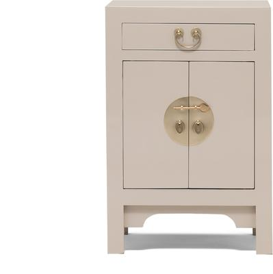 Small Classic Chinese Cabinet - Oyster Grey image 2