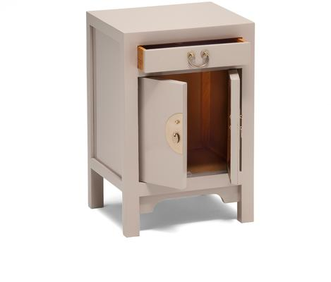 Small Classic Chinese Cabinet - Oyster Grey image 3