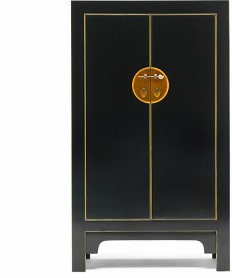 Medium Classic Chinese Cabinet - Black image 3
