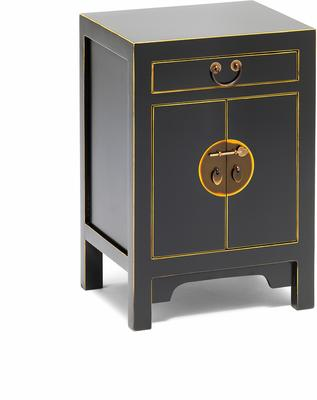 Small Classic Chinese Cabinet - Black