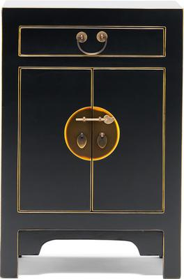 Small Classic Chinese Cabinet - Black image 2