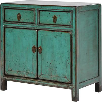 Shabby Cupboard in Turquoise image 3