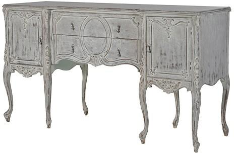 Elaborate Carved French Sideboard image 2
