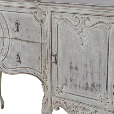 Elaborate Carved French Sideboard image 5