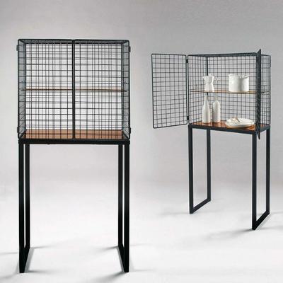 Wire Mesh Cabinet