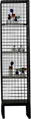 Narrow Wire Mesh Cabinet image 2