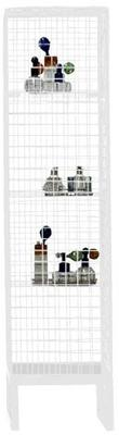 Narrow Wire Mesh Cabinet image 5