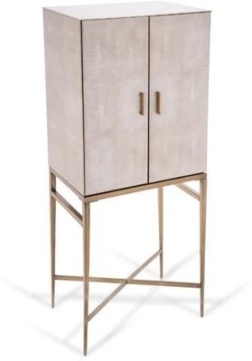 Tall Shagreen Cabinet