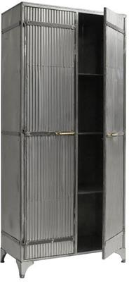 Large Corrugated Metal Cabinet image 2
