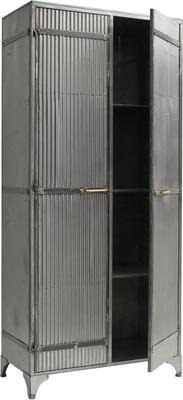 Large Corrugated Metal Cabinet image 3