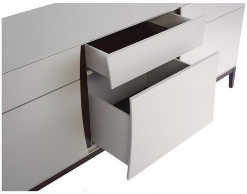 Lux 2 door 4 drawer sideboard image 2