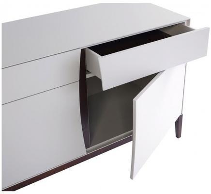 Lux 2 door 4 drawer sideboard image 3