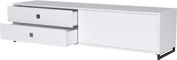 High Gloss Sideboard in White image 3