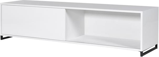 High Gloss Sideboard in White image 4