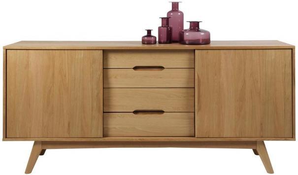Marta 2 door 4 drawer sideboard image 3