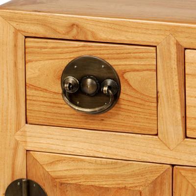 End Cabinet in Light Elm image 3