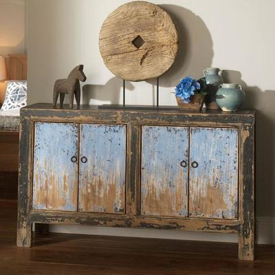 Sideboard in Blue & Black image 2