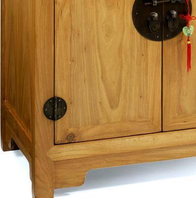 Double-Sided Cabinet in Light Elm image 3