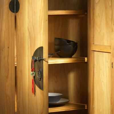 Corner Cabinet in Light Elm image 2