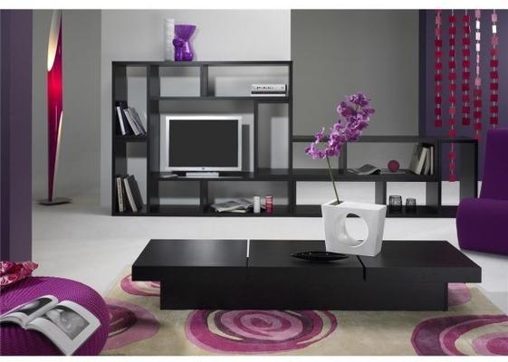 TemaHome Modern Domino Display Unit - Matt White or Wenge image 3