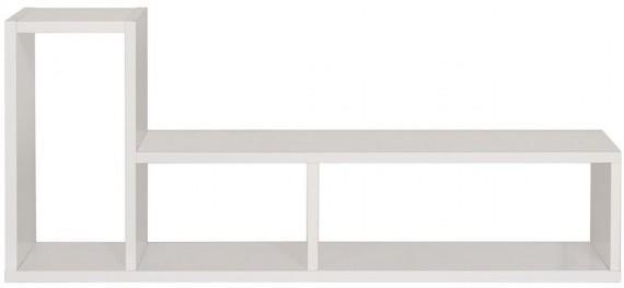 TemaHome Modern Domino Display Unit - Matt White or Wenge image 4