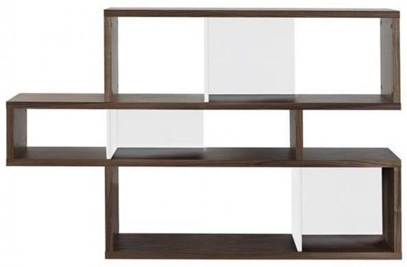 TemaHome London Contemporary Display Unit - Walnut, Black or White image 3