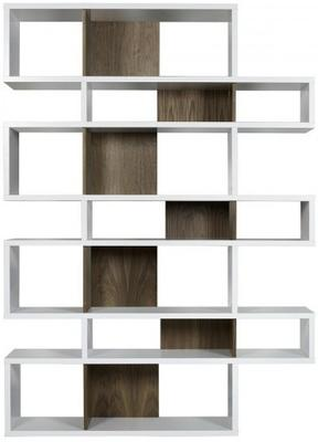TemaHome London Contemporary Display Unit - Walnut, Black or White image 4