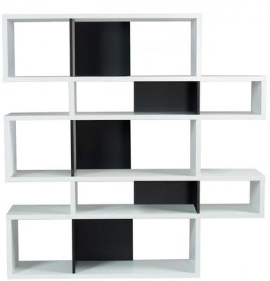 TemaHome London Contemporary Display Unit - Walnut, Black or White image 5