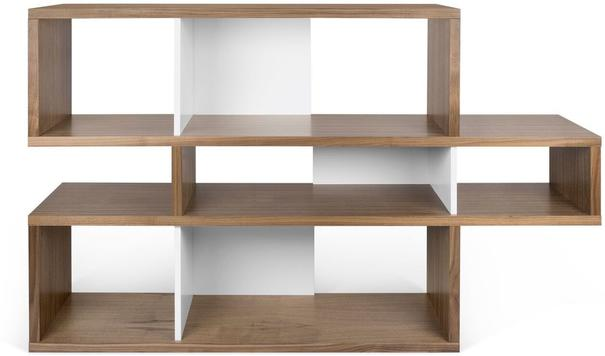 TemaHome London Contemporary Display Unit - Walnut, Black or White image 8