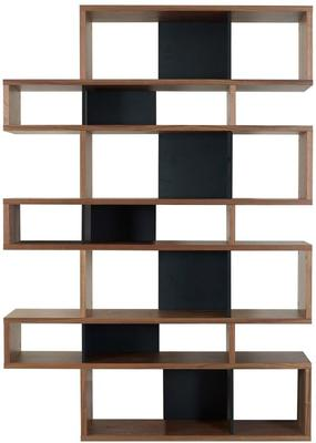 TemaHome London Contemporary Display Unit - Walnut, Black or White image 11