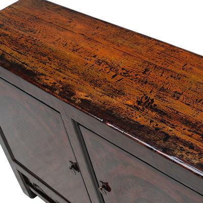Painted Sideboard with Good Luck Symbols image 4