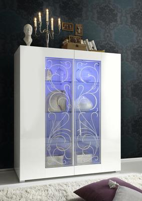 Padua Display Cabinet Including LED Spot Light