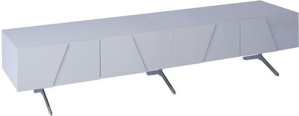 Glacier Low Media TV Sideboard Gloss White