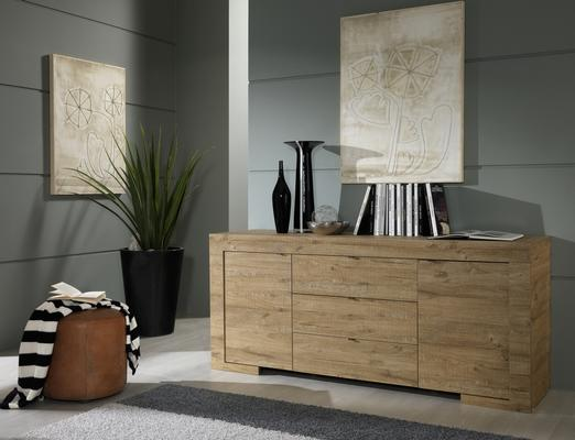 Milano Collection Sideboard in Rovere Miele oak